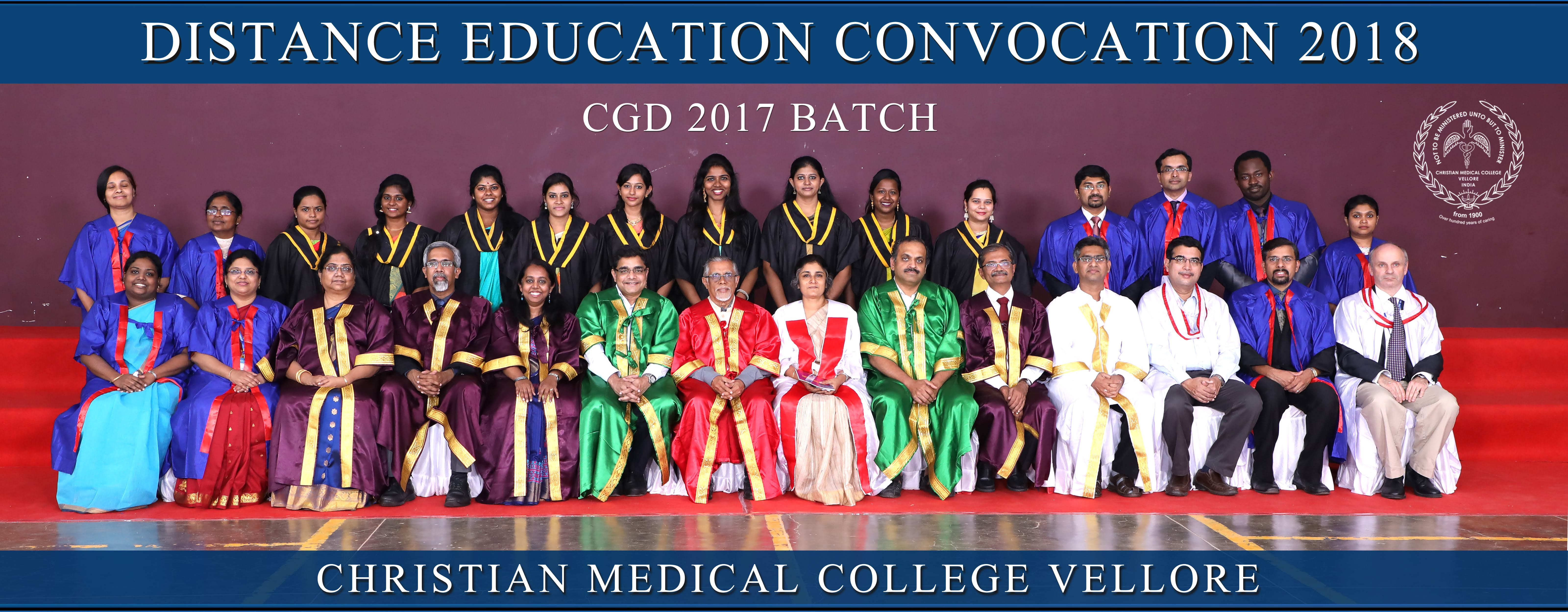 Courses : Distance Education Department :: Christian Medical